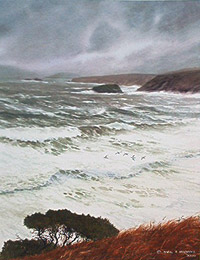 Stormy Weather Porth Ysgo Thumbnail